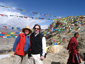 judy-and-Larry-Tibet