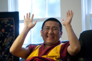 Changling Rinpoche. Photo by Marvin Moore.