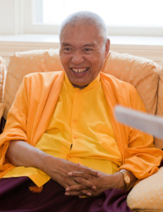 Namkha Drimed Rinpoche. Photo by Marvin Moore