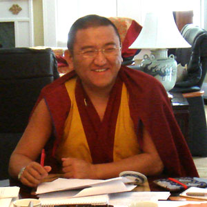Changling Rinpoche.