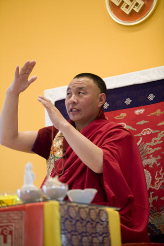 Karma Senge Rinpoche. Photo by Marvin Moore