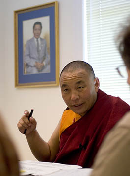 Karme Senge Rinpoche Photo by Marvin Moore
