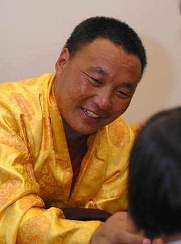 Karma Senge Rinpoche Photo by Marvin Moore